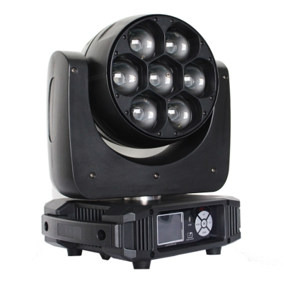 7*40W LED Zoom Beam Wash Moving Head Light