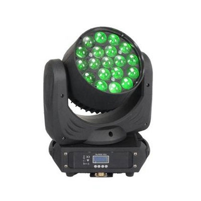 19pcs 15W 4in1 rgbw led zoom wash moving head stage light