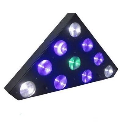 4in1 RGBW 10×10W triangle matrix light