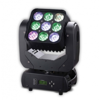 3*3 LED Matrix Moving Head Light