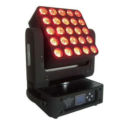 5x5 LED Matrix Moving Head Light