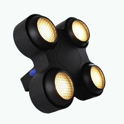 4 eyes 4*100w warm white  cob led blinder lights